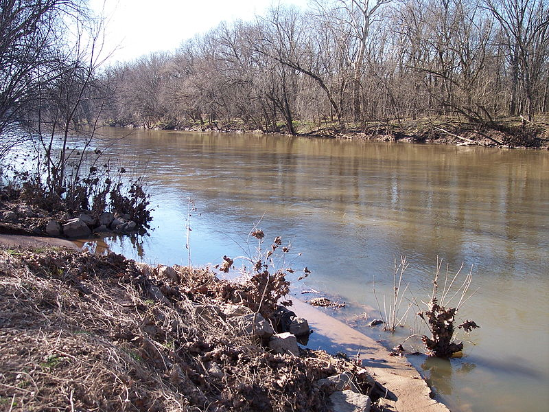 The Monocacy River near Frederick, Maryland