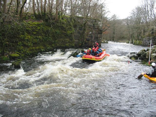 Tryweryn River Rafting