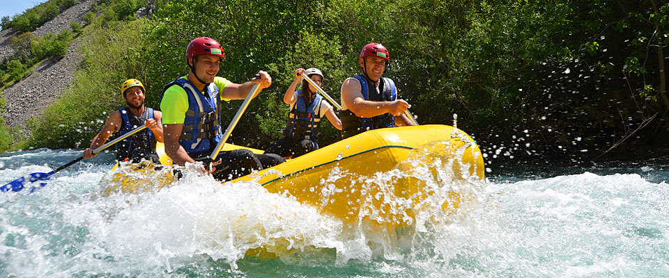 Croatia white water rafting